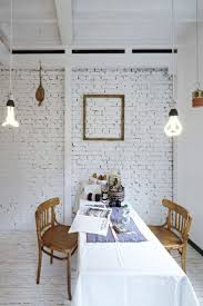 painting brick walls white u2013 an increasingly popular trend