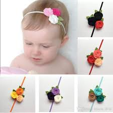 felt headbands felt flower headband for kids baby girl christmas