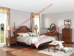 Bedroom Furniture Sets Real Wood Rome Style Solid Wood Bed With Storage In Bedroom Furniture Sets