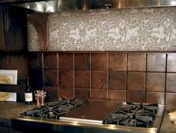 copper backsplash kitchen hammered copper tile backsplash not the vine