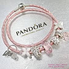 pandora leather bracelet pink images Authentic pandora princess dress pandora bracelet leather jpg