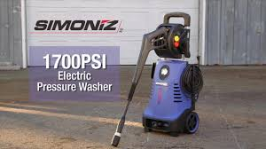 wall mount electric pressure washer simoniz 1700 psi electric pressure washer canadian tire