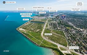 North Shore Chicago Map by Sprawling Us Steel Property To Be Re Parceled Into Four Smaller
