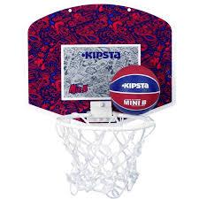 mini panier de basket chambre set mini b bleu decathlon