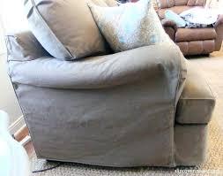 slipcovers for pillow back sofas pillow back sofa slipcovers denim slipcover by 3 pillow couch