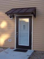 Awnings For Porches Best 25 Front Door Awning Ideas On Pinterest Metal Awning