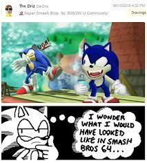Smash Bros Memes - sonic 64 super smash brothers know your meme