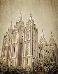 Lds Home Decor by Instant Download Salt Lake City Lds Temple Color Fine Art