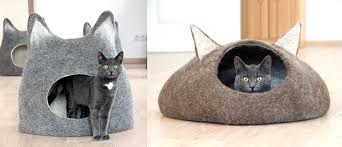 knitting pattern cat cave cat style trend alert amazing felted wool cat cocoons catster