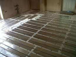 installation of underfloor heating system geotek heating ltd