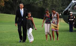 Obama First Family by Barack Obama And Sasha Obama Photos Photos The First Family