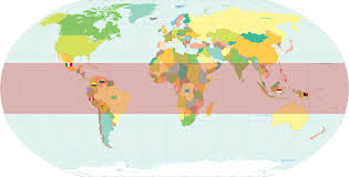 World Map Country Flags Where Are Rainforests Found