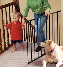 Large Pressure Mounted Baby Gate Top 5 Best Baby Gates For Top Of Stairs Gate With Banisters