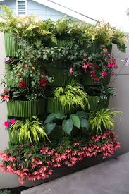 Vertical Garden System Divine Living Wall Planter Green Recycled Plastic Self Watering