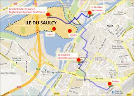 Metz France Map by Iutam Symposium June 17 21 2013 Metz France