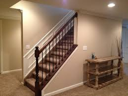 open basement railing u2014 railing stairs and kitchen design keeps