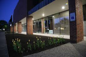 commercial building outside lighting outdoor lighting options for commercial properties brightlec