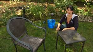 Patio Furniture Green by How To Clean Patio Furniture Decks Grills And Outdoor Rugs Youtube