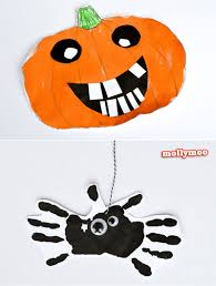20min halloween art projects spider face and craft