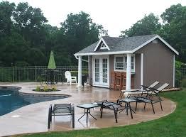 Cabana Pool House Swimming Pool House Sheds And Cabanas Beach Style Pool