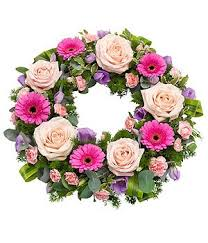 wreaths designed with care delivered with