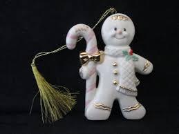 lenox a treat 2000 gingerbread w gold accents ornament
