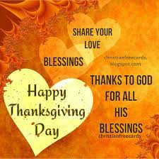 happy thanksgiving day 2017 christian card thanks to god free