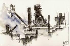 another type of urban scenes urban sketchers