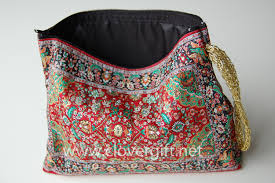 Persian Rug Mouse Mat by Woven Cosmetic Make Up Purses Make Up Makeup Bags Wholesale Retail