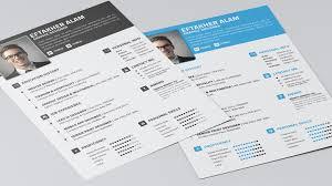 Free Professional Resumes Templates 5 Free Fully Customizable Cv Resume Templates