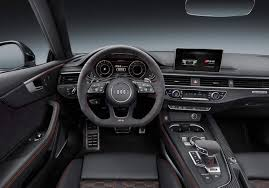 audi dashboard 2017 2018 audi rs5 out now redesign specs info