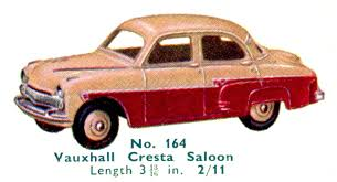 vauxhall cresta vauxhall cresta dinky toys 164 the brighton toy and model index
