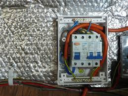 wiring a garage consumer unit diagram gooddy org