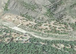 Santa Barbara Map Santa Barbara Sage Hill Campground Hiking Trails Day Hikes