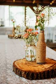 used wedding centerpieces used rustic wedding decor greatest decor