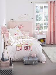 chambre enfant vertbaudet housse tête de lit miss butterfly rosé vertbaudet