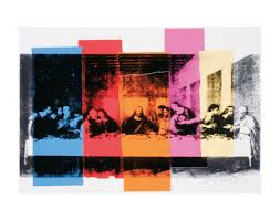 61 best art on the last supper for maundy thursday images on andy warhol detail of the last supper c1986 jpg