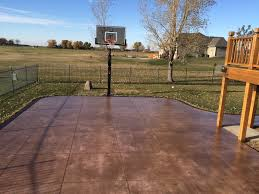 Outdoor Basketball Court Cost Estimate by Our Concrete Basketball Courts Are Constructed To Hold Up To The