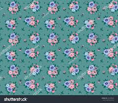 cute pattern small flower small pink stock vector 424018840