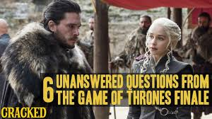 the game of thrones finale left a lot of unanswered questions ep