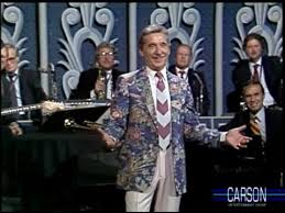 johnny carson makes of doc severinsen s floral jacket tonight