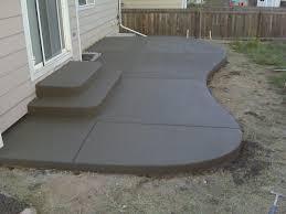 Design Patios Concrete Patio Designs Calladoc Us