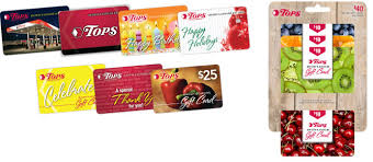 gasoline gift cards tops friendly markets gift cards