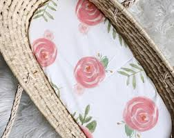 Moses Basket Coverlet Moses Basket Cover Etsy