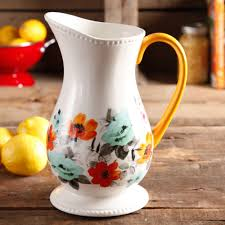 Walmart Flower Vases Pretty Pitcher The Pioneer Woman
