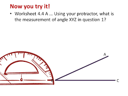 today we will learn review how to measure angles with a