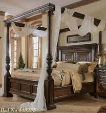 Bedroom Furniture Luxury by Antique Louis Xv Carving Bed Solidwood Carving Kingsize Bed Canopy