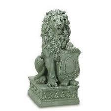 gold lion statues lion ebay