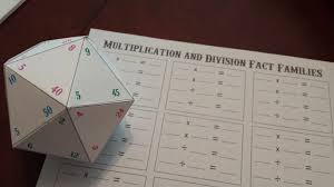 math fact families multiplication division multiplication and division fact family haphazard