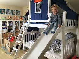 Boys Bunk Beds With Slide Best 25 Bunk Bed With Slide Ideas On Pinterest Cabin Bed With